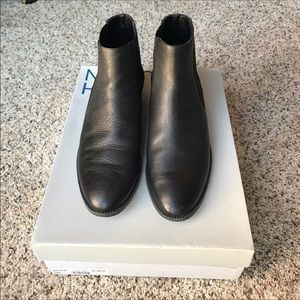 14th and Union Black Leather Boots(ies)